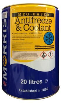 MEG-Based Antifreeze & Coolant (20 л.)
